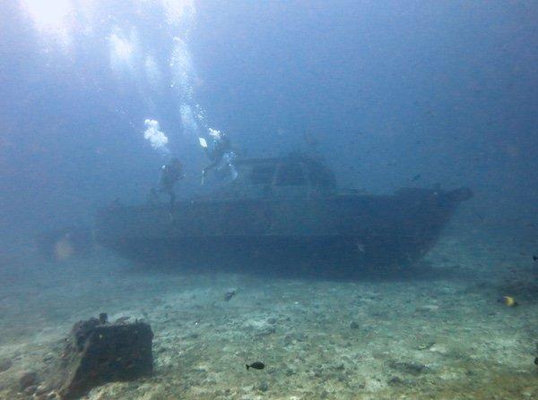 Jepun Wreck Padang Bai