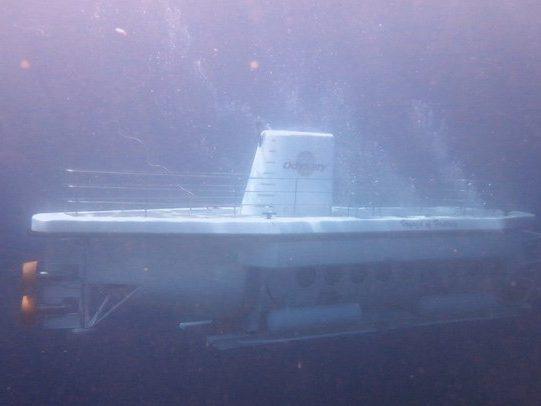 Padang Bai Submarine Bali